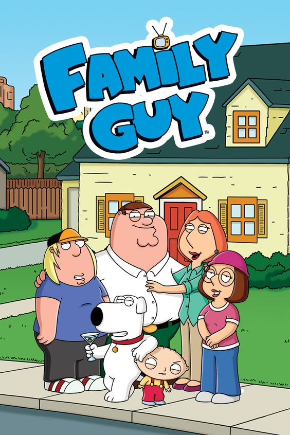 Padre de familia – Family guy 👨‍👩‍👧‍👦