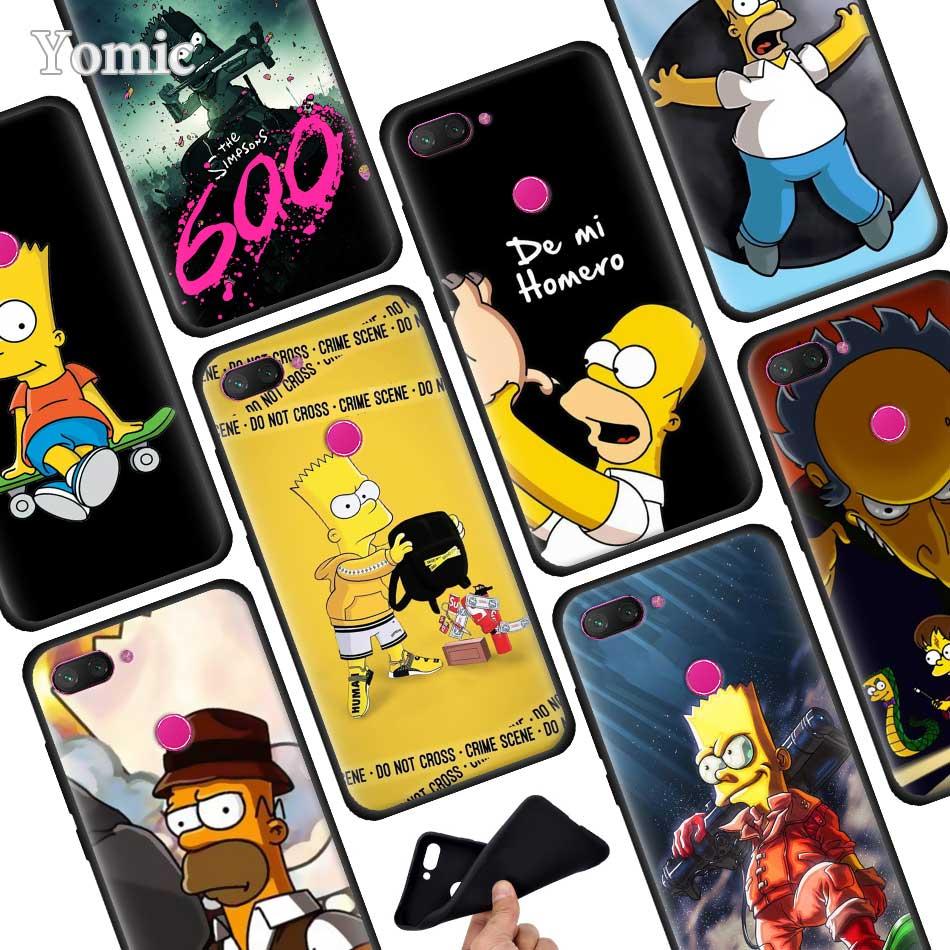 Funda de Teléfono de Los Simpson