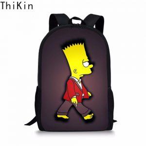 mochilas de costas simpson broma