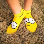 Calcetines de Los Simpson