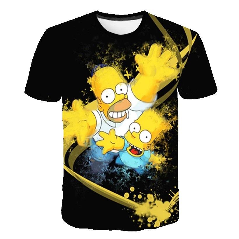 camiseta masculina fenenima simpson