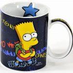 Taza de Los Simpson