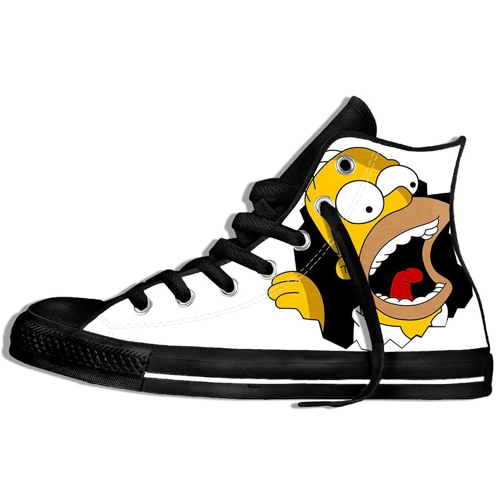 Zapatillas de Los Simpson